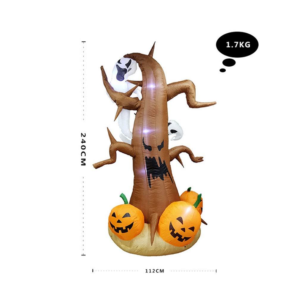 RONSHIN - Árbol de Navidad Hinchable para Halloween, 2,4 m, para ...