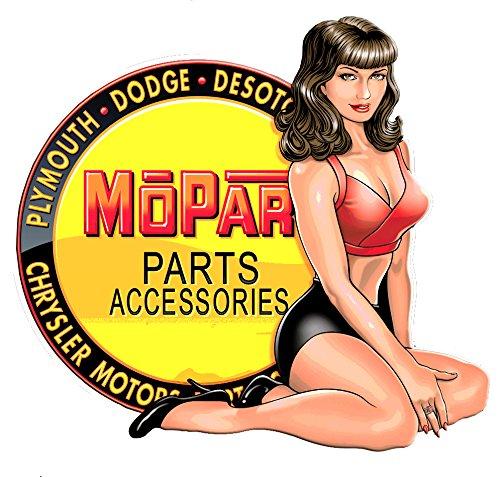 Mopar Parts Accessories Pin Up 5