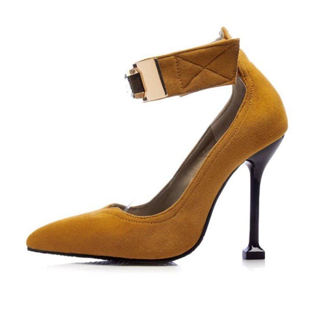 GAOLIXIA Frauen Mode Pumps Frühling Sommer Spitzen Spitzen Spitzen Ankle Strap Schuhe High Heels Strass Gericht Schuhe Mary Jane Heels Große Größe 34-43 7531fc