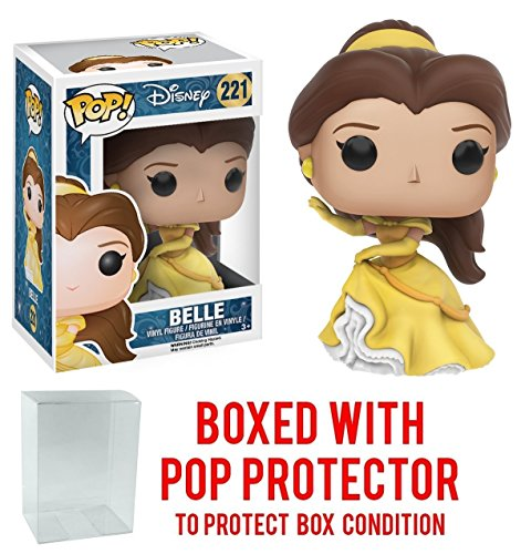 Price comparison product image Funko Pop! Disney: Beauty & The Beast - Belle Gown Version Vinyl Figure (Bundled with Pop BOX PROTECTOR CASE)