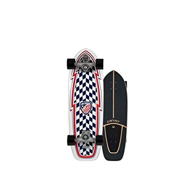 "Carver Skateboards 2020 USA Booster Complete C7 30.75"" : Sports & Outdoors"