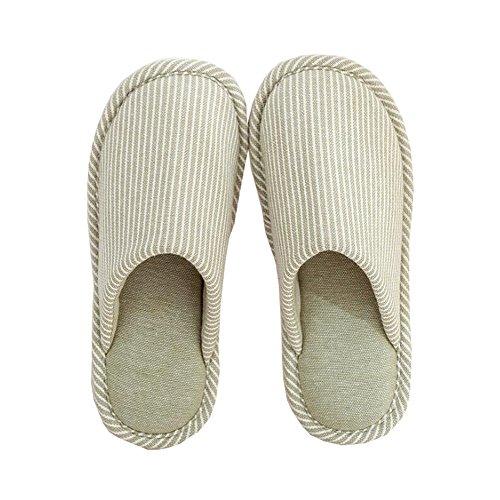 Pantofole Temptation di lino donna 2 per spiaggia Black da Nizza design da di GREEN piscina xwBHI5Sq5g