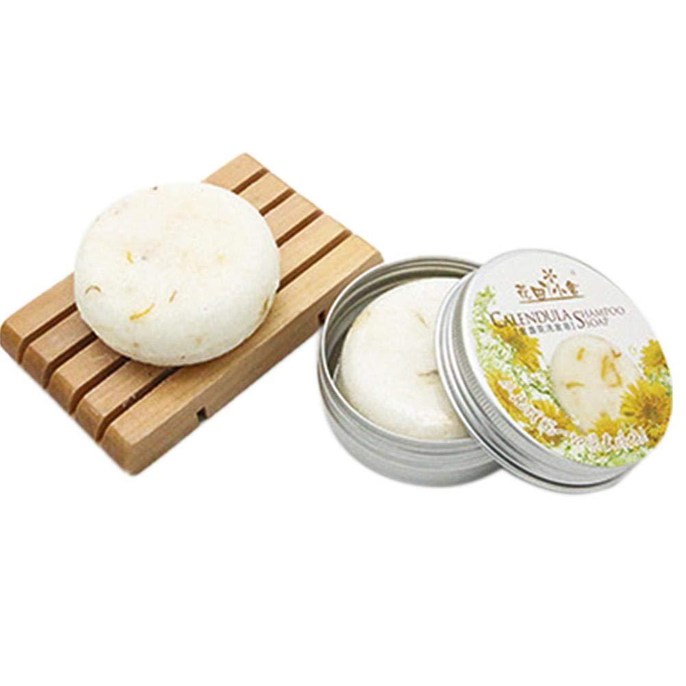 iShine New Rosemary Shampoo Soap Reveur Scalp Lavender Plant Essential Oil Shampoo Bar Ginger Hair Care Aluminum Box Packaging