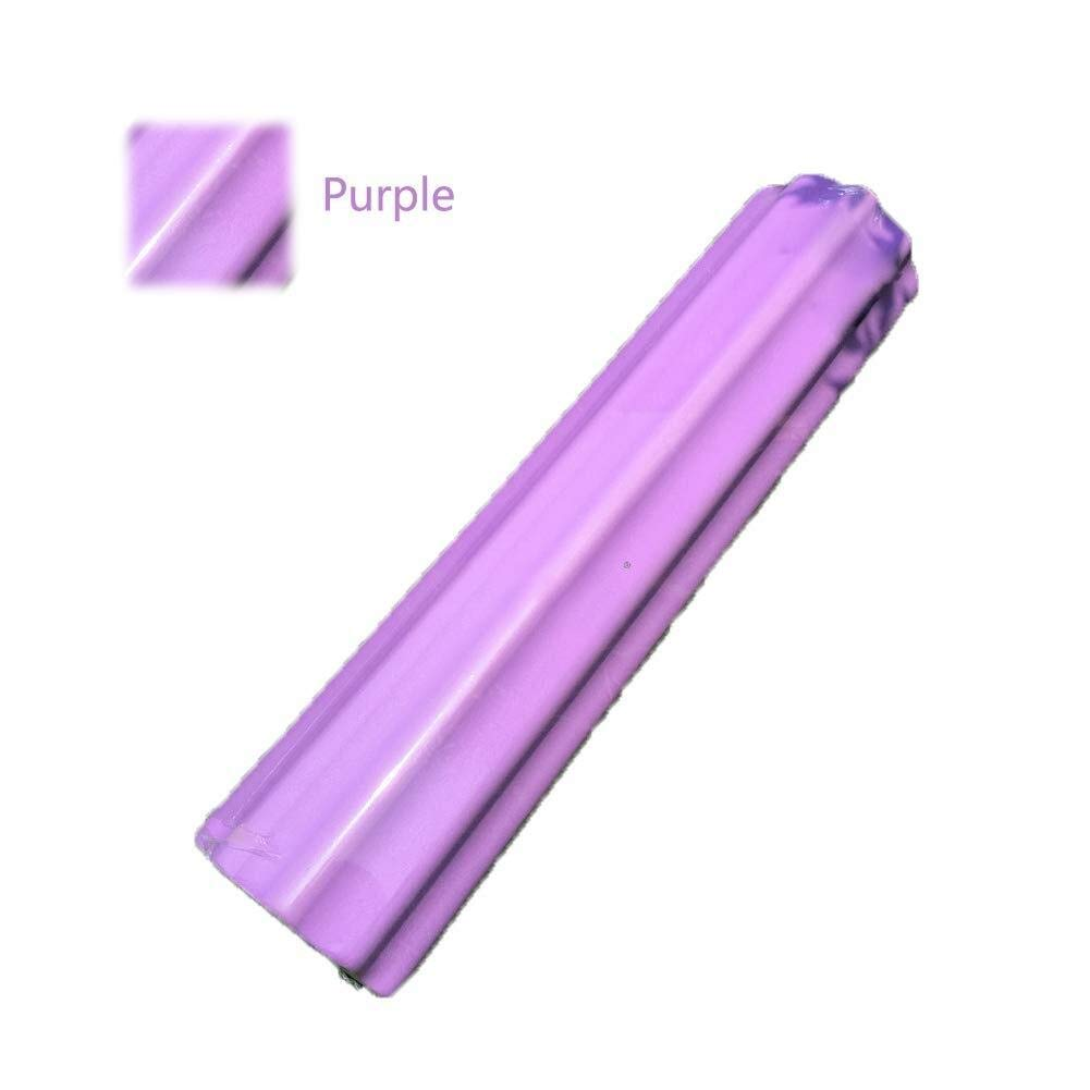 Yoga Foam Roller - Massage Roller Non-Slip, EVA Massage Tool, for Deep Tissue Muscle Massage, Muscle Roller for Fitness Pain Relief, for Home Gym Pilates Yoga (Color : Purple, Size : 1560cm)