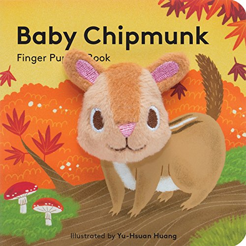 Price comparison product image Baby Chipmunk: Finger Puppet Book