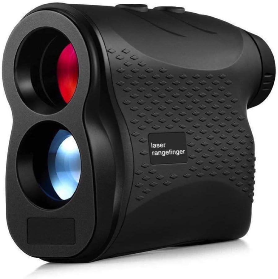 Lepfun 600m Telémetro de Golf, Multifunciones Laser Rangefinder, 6X Aumento, con Bloqueo de Bandera, Distancia, Medición de Velocidad, para Golf, Escalada en Roca al Aire Libre