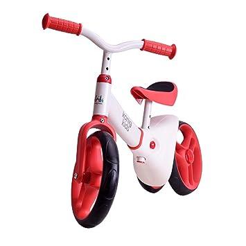 BO LU Equilibrio para Niños Coche Sin Pedal Al Aire Libre Bicicleta para Ejercicios con Dos Ruedas Caminadora Deslizante: Amazon.es: Hogar