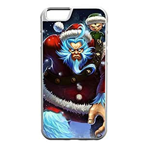 Nunu-002 League of Legends LoL case cover for Apple iPhone 6 Plus - Rubber White