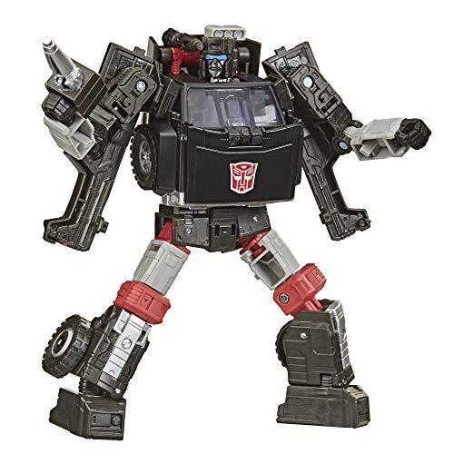 Transformers Toys Generations War for Cybertron: Earthrise Deluxe WFC-E34 Trailbreaker Action Figure - Kids Ages 8 and Up, 5.5-inch