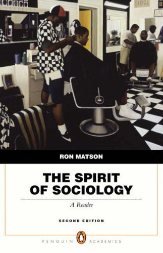 Spirit of Sociology, The (2nd Edition)