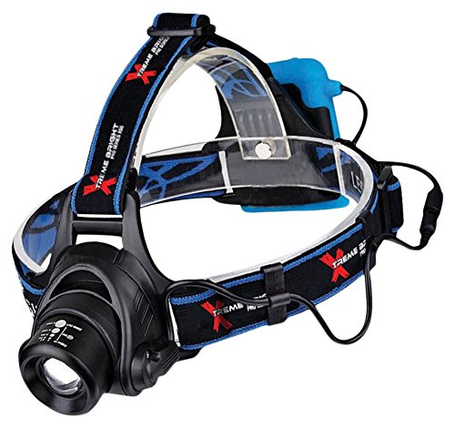 Series Headlamp - Xtreme Bright Pro Series X55 LED Headlamp - Ultimate in camping headlamps & great addition to camping and hiking equipment
