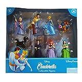(US) Disney Parks Exclusive Deluxe Cinderella 8 Pc. Figure Playset