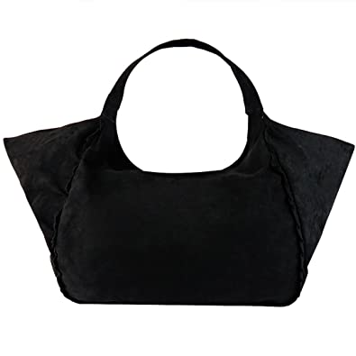 Tote bag with fashion handle Black color