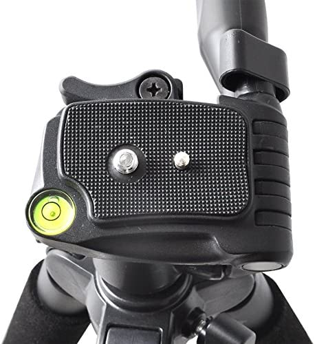 Lightweight 57-inch Professional Camera Tripod For Sony HDR-AS100V HDR-AS100VR HDR-CX220 HDR-CX230 HDR-CX240 HDR-CX290 HDR-CX330 HDR-CX380 HDR-CX430V HDR-CX900 HDR-PJ230 HDR-PJ275 HDR-PJ340 HDR-PJ430V HDR-PJ380 HDR-PJ540 HDR-PJ650V HDR-PV790V HDR-PJ810 Han