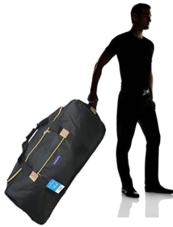 072a3ec5b9db Image Unavailable. Image not available for. Color  BoardingBlue Cuban  Rolling Travel Duffel bag ...