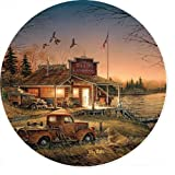 Total Comfort - Pickup Truck Coasters by Terry Redlin