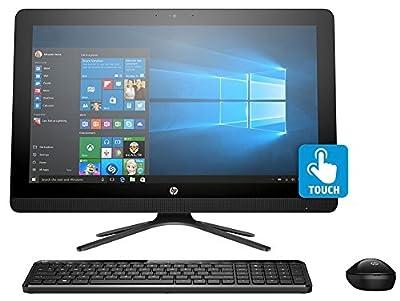 HP 22 Inch Full HD IPS Touchscreen All-in-One Desktop Computer, Intel Quad Core Pentium J3710 1.6GHz, 8GB RAM, 1TB HDD, USB 3.0, HDMI, Wifi, DVDRW, Bluetooth, Windows 10 (Certified Refurbished)