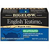 Bigelow Decaf English Teatime Tea Bags, 20 ct