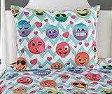 Emoji Bed in a Bag Full Idea Nuova Emoji Chevron Bed in A Bag, Full, Multi