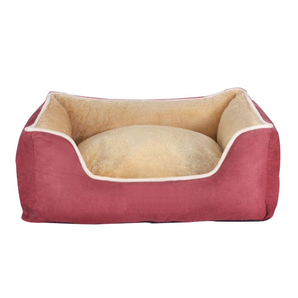 1002-S Waterproof Pet Nest Removable and Washable Four Seasons Universal Pet Mat Kennel Big Middle Puppies Four Seasons Warm Supplies (color   1002-S)