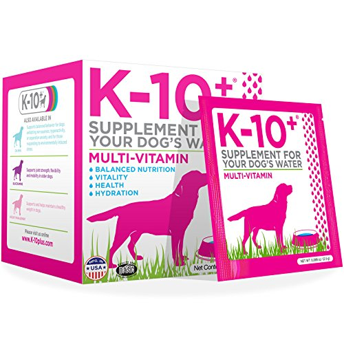 K-10+ Multi-Vitamin For Dogs