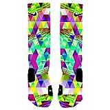 Psychedelic Prism Custom Elite Socks