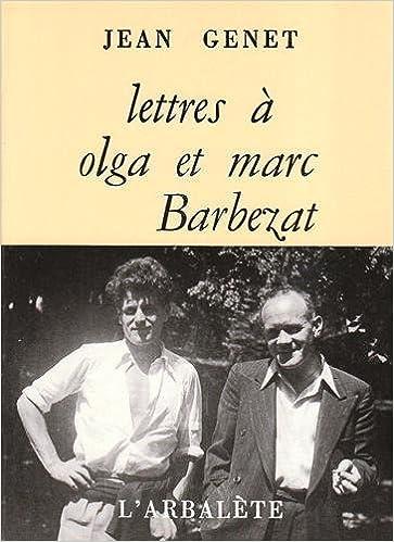 Lire un Lettres à Olga et Marc Barbezat pdf, epub