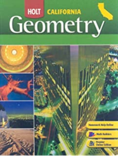 Printables Holt Geometry Worksheet Answers amazon com holt geometry california homework and practice student edition grades 9 12 2008