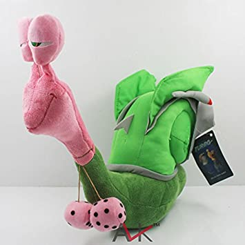 1pca 12inch 30cm Turbo Racing League Smoove Move Plush Green Snail Retail
