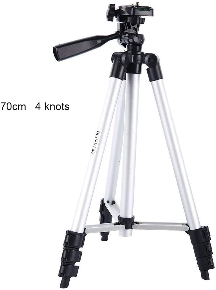 Choice of 70Cm and 100Cm Selfie Stick Tripod Extension-Type for DSLR SLR Cameras Compatible and iPhone Android Phone LDD OUTDOOR Portable Camera Stand Holder ,70cm