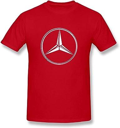 Camiseta Mercedes-Benz AMG Maybach Emblem Logo Crew para Hombre: Amazon.es: Ropa y accesorios