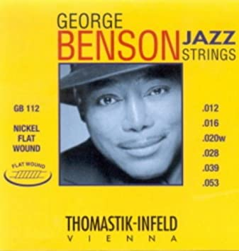 Amazon.com: CUERDAS GUITARRA ELECTRICA - Thomastik (GB/112) George Benson (Juego Completo 012/053): Musical Instruments