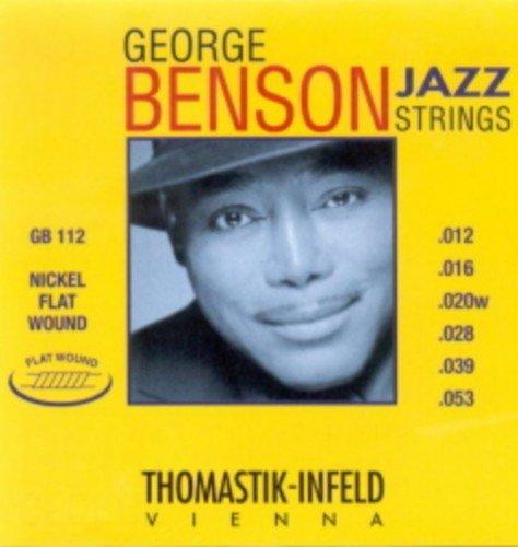 George Benson Guitar Strings (CUERDAS GUITARRA ELECTRICA - Thomastik (GB/112) George Benson (Juego Completo 012/053))