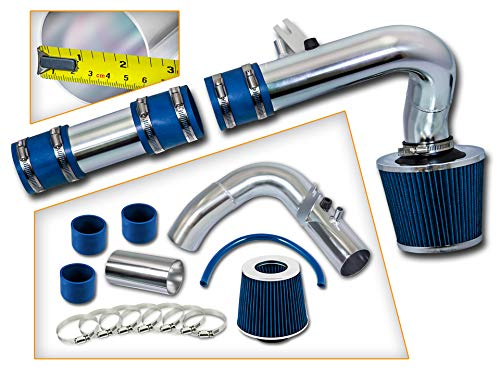 Rtunes Racing Cold Air Intake Kit + Filter Combo BLUE Compatible For 00-05 Dodge Neon All Models