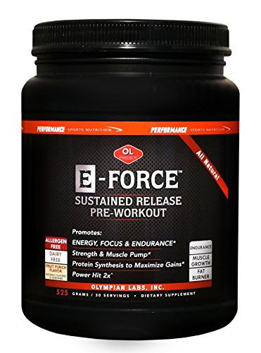 Olympian Labs E-Force Powder, 525 Gram