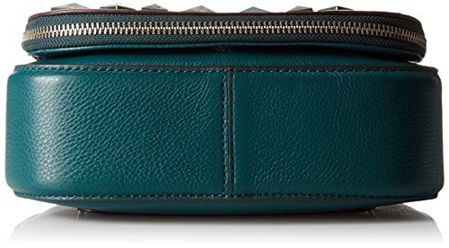 Marc Small Shoulder Saddle Studs Chipped Bag Jacobs Recruit Teal CqCUH