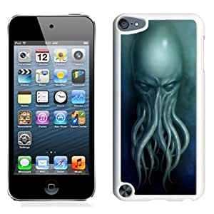 New Custom Designed Cover Case For iPod 5 Touch With Cthulhu Fantasy Mobile Wallpaper (2) Phone Case