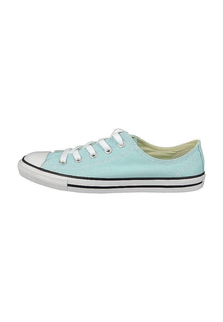 Converse All Star Dainty Ox Damen Motel Sneaker Blau Motel Damen Pool schwarz Weiß b7b415