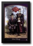 Grateful Dead- Dead Family 26x38 Framed Art Print