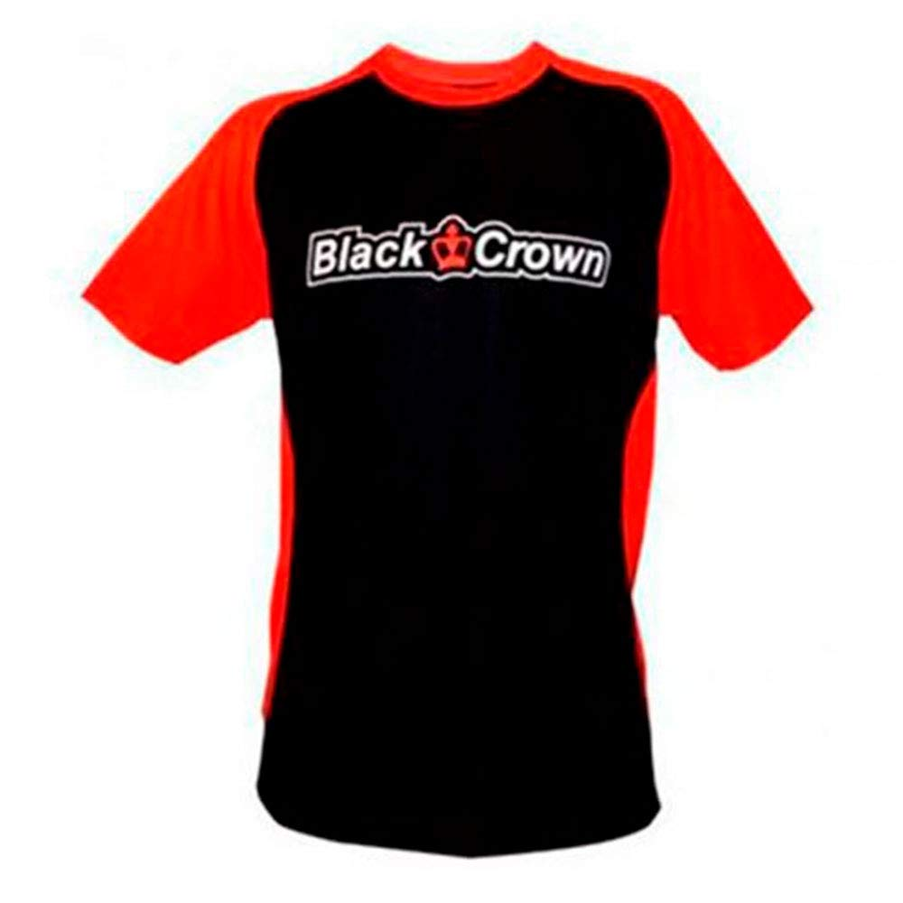 Black Crown Camiseta Stop Negro Rojo: Amazon.es: Deportes y aire libre