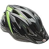 Bell Bike Surge Glory Helmet, Black/Silver/Green
