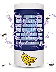 Bug Zapper Indoor, Electronic Fly Zapper Lamp for Home, Eliminates Gnats Fruit Flies Flying Pests - Non-Toxic - Silent - Effective Operation UV Insect Killer