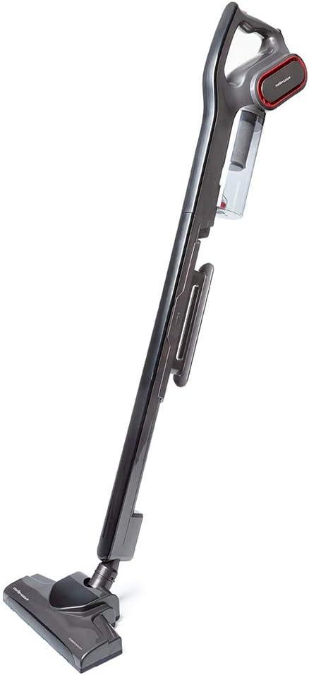 MELLERWARE Rider 2.0 - Aspirador Escoba con Cable 3 en 1, Aspirador Vertical con filtro HEPA, Aspirador de Lanza y Aspirador de Mano. 700W, depósito de 0,8L, sin Bolsa y 6 Metros