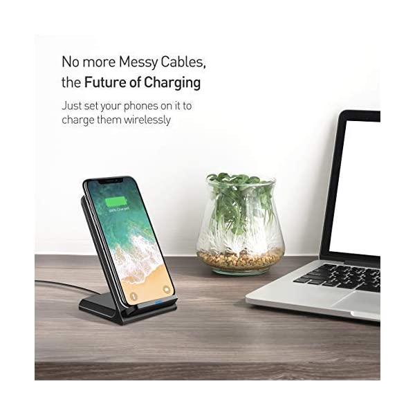 Seneo-Wireless-Charger-Qi-Certified-Wireless-Charging-Stand-Compatible-with-iPhone-Xs-MAXXRXSX88-Plus-10W-for-Galaxy-S10S9S9-PlusNote-98-5W-All-Qi-Enabled-PhonesNo-AC-Adapter