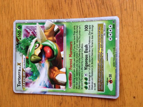 Pokemon Promo Card Holofoil Torterra Level X DP09