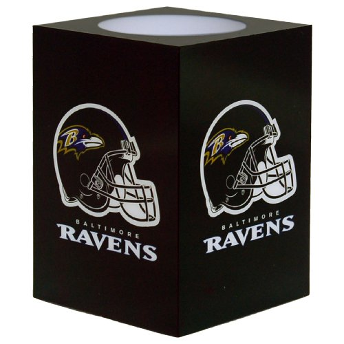 The Northwest Company NFL Baltimore Ravens Square Flameless Candle by The Northwest Company
