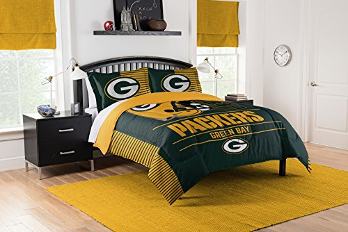 (The Northwest Company NFL Draft Full/Queen Comforter and 2 Sham Set)