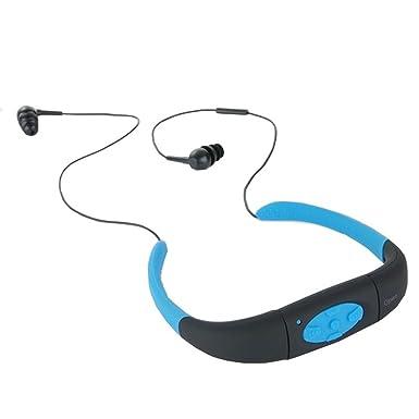 Resistente al agua Bluetooth auriculares con micrófono inalámbrico Sport auriculares bluetooth para correr natación