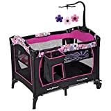 Pack and Play with Bassinet Baby Trend Nursery Center, Floral Garden