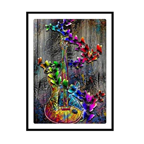 Dabixx 5D DIY Diamond Painting, Musical instrument 5D DIY Painting Painting By Numbers Diamonds Embroidery Painting Cross Stitch Kit DIY Home Decor 3040cm